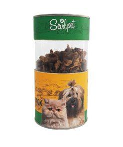 تشویقی سنگدان مرغ، مخصوص سگ و گربه، 80 گرمی، برند سویل پت 1