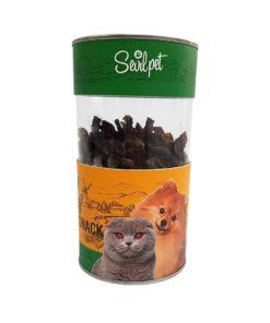 تشویقی دل مرغ، مخصوص سگ و گربه، 80 گرمی، برند سویل پت 1