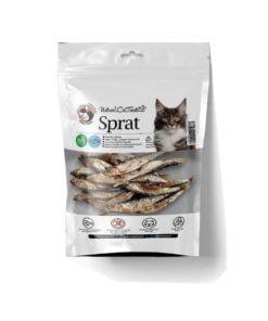 تشویقی ماهی کیلکا، مخصوص گربه، 50 گرمی، برند هاپومیل