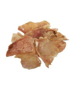 تشویقی چیپس پوست ماهیچه، مخصوص سگ، 50 گرمی، برند هاپومیل 1