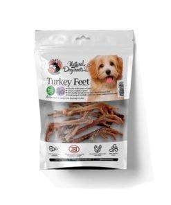 تشویقی پای بوقلمون، مخصوص سگ، 3 عددی، برند هاپومیل