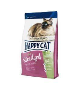 غذای خشک گربه عقیم، حاوی گوشت بره، 1.4 کیلوگرمی، برند هپی کت