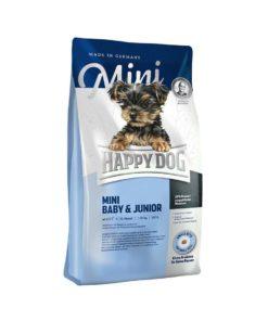 غذای خشک توله سگ و سگ جوان، نژاد کوچک، 1 کیلوگرمی، برند هپی داگ
