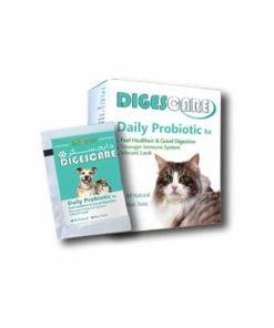 پروبیوتیک روزانه، مخصوص سگ و گربه، 15 ساشه، مدل دایجسکر، برند بایوران 1