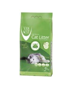خاک گربه، با رایحه آلوئه ورا، 5 کیلوگرمی، برند ون کت