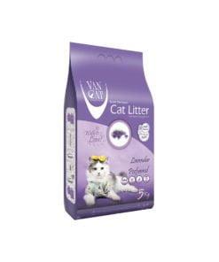 خاک گربه، با رایحه لوندر، 5 کیلوگرمی، برند ون کت
