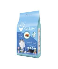 خاک گربه، با رایحه صابون فرانسوی، 5 کیلوگرمی، برند وَن کت