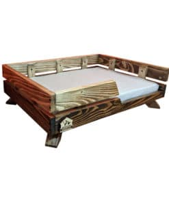 جای خواب چوبی، طرح آرتمیس، مخصوص سگ های کوچک، برند خانه های لوکس حیوانات 1