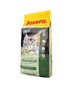 غذای خشک مخصوص گربه بالغ، بدون غلات، 400 گرمی، مدل نیچر کت، برند جوسرا