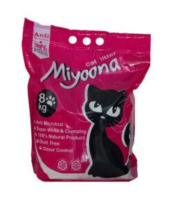 خاک گربه، بدون رایحه، 8 کیلوگرمی، برند میونا
