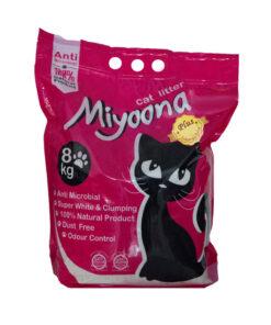 خاک گربه، با رایحه پودر بچه، 8 کیلوگرمی، برند میونا
