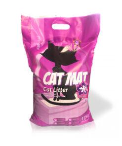 خاک گربه، دارای رایحه لوندر، 10 کیلوگرمی، برند کت مت