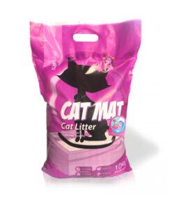 خاک گربه، با رایحه اقیانوس آرام، 10 کیلوگرمی، برند کت مت