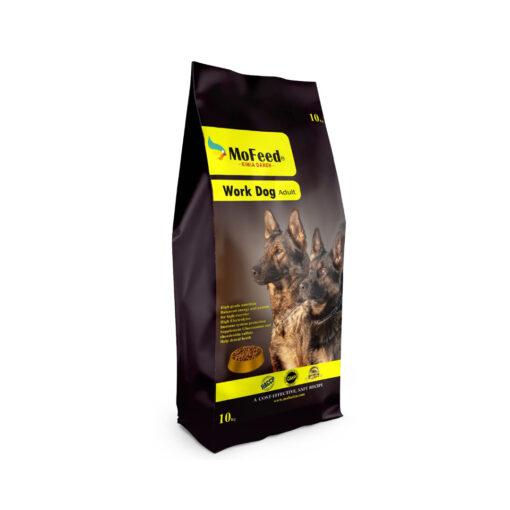 غذای خشک سگ نژاد بزرگ بالغ، سگ کار، 10 کیلوگرمی، برند مفید