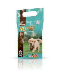 غذای خشک توله سگ، 2 کیلوگرمی، برند نوتری پت