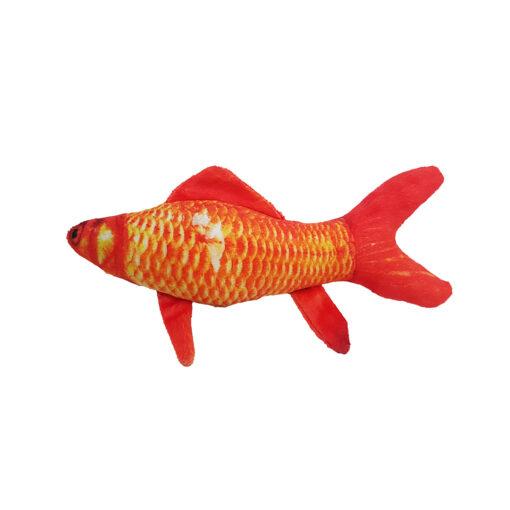 عروسک پولیشی، مخصوص گربه، ماهی قرمز، سایز S، برند سویل پت