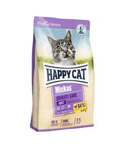 غذای خشک گربه، مراقبت و سلامت دستگاه ادراری، مدل مینکاس، 10 کیلوگرمی، برند هپی کت