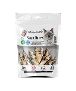 تشویقی ماهی ساردین، مخصوص گربه، 30 گرمی، برند هاپومیل