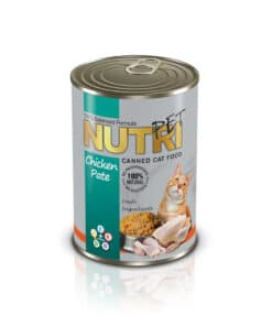 کنسرو مخصوص گربه، حاوی مرغ، پاته، ۴۲۵ گرمی، برند نوتری پت
