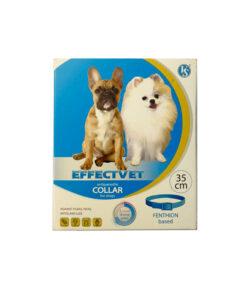 قلاده ضد کک و کنه، مخصوص سگ، کوچک، 35 سانتیمتری، برند افکت وت