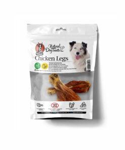 تشویقی ساق مرغ، مخصوص سگ، 2 عددی، برند هاپومیل