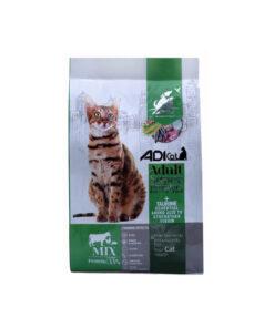 غذای خشک گربه بالغ، سوپر پریمیوم، مخلوط، برند ادی کت