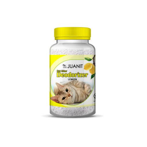 خوشبوکننده مخصوص خاک گربه، رایحه لیمو، برند ژوانیت