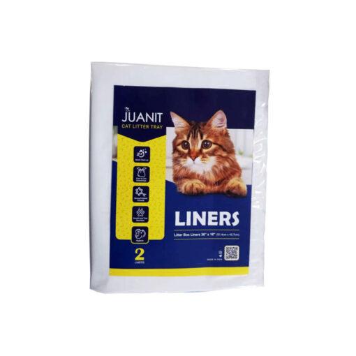 لاینر، کیسه زباله مخصوص ظرف خاک گربه، 2 عددی، ژوانیت
