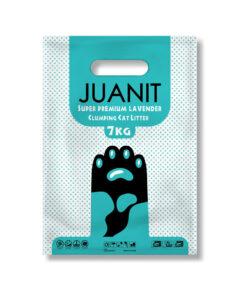 خاک توالت گربه، سوپر پریمیوم، رایحه لوندر، 7 کیلوگرمی، ژوانیت