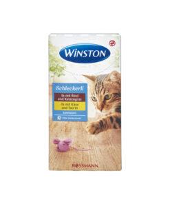 بستنی گربه، در دو طعم گوساله و پنیر، بسته 8 عددی، برند وینستون